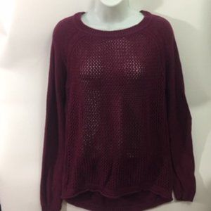 Forever 21+ Plus Size Burgundy Pullover XL